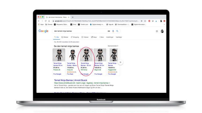 Opsætning af Google Shopping kampagne - skal Visuelt hjælpe dig?